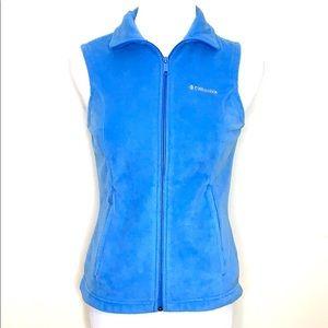 Columbia Blue Fleece Vest (J25)